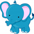 Cute Elephant — Stock Photo