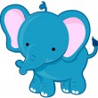 Stock Photo: Cute Elephant