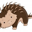 Cute Porcupine - Stock Photo