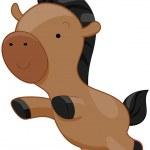 Cute Horse — Stock Photo
