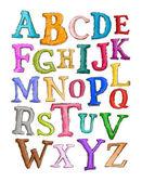 Alphabet Sketch — Stock Photo