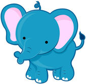Cute Elephant — Stock Photo