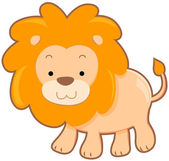 Cute Lion — Stock Photo