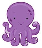 Cute Octopus — Stock Photo