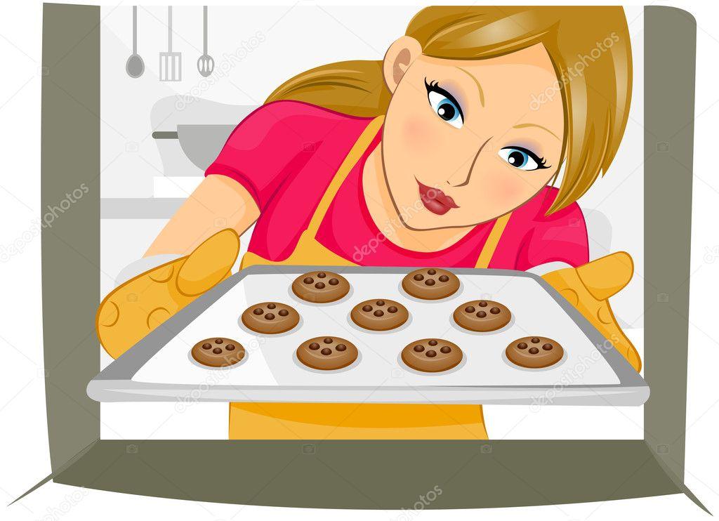 Baking Cookies — Stock Photo #3954085