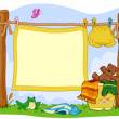 Laundry Frame — Stock Photo #4009746