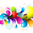 Rainbow Splash — Stockfoto