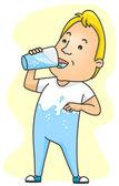 Drinking Water — Stock Photo