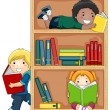 Reading Books — Stock Photo #4010074