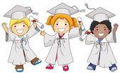 Graduates — Stock Photo