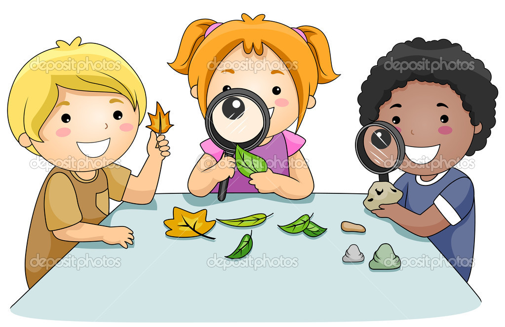 Kids Studying Clip Art