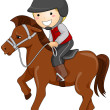 Horseback Riding — Stock Photo #4133109