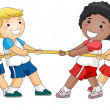 Tug of War — Stock Photo