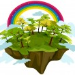 Stock Photo: Floating Island