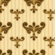Seamless Damask Pattern — Stock Photo