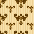 Stock Photo: Seamless Damask Pattern