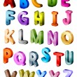 Stock Photo: Isometric Alphabet