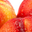 Closeup of fresh nectarines - Stock Photo