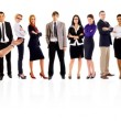 Happy business team — Stock Photo #4198698