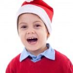 Noel Baba çocuk — Stok fotoğraf