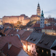 Cesky Krumlov - UNESCO heritage - Stock Photo