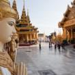 Schwedagon pagoda — Stock Photo