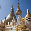 Schwedagon pagoda - Stock Photo