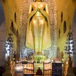 Golden Buddha statue - Stock Photo