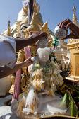 Rezando no pagode schwedagon — Foto Stock