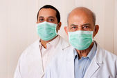 Two Asian doctors — Stock Photo