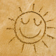 Stock Photo: Smiling sun