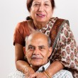Stock Photo: Senior Indian couple