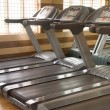 Stock Photo: Treadmill equipment