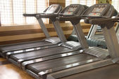Treadmill equipment — 图库照片