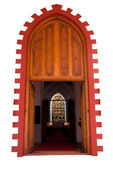Church doorway — Stock Photo