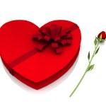Valentine gifts — Stock Photo