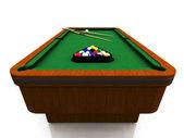 Billiard table — Stock Photo