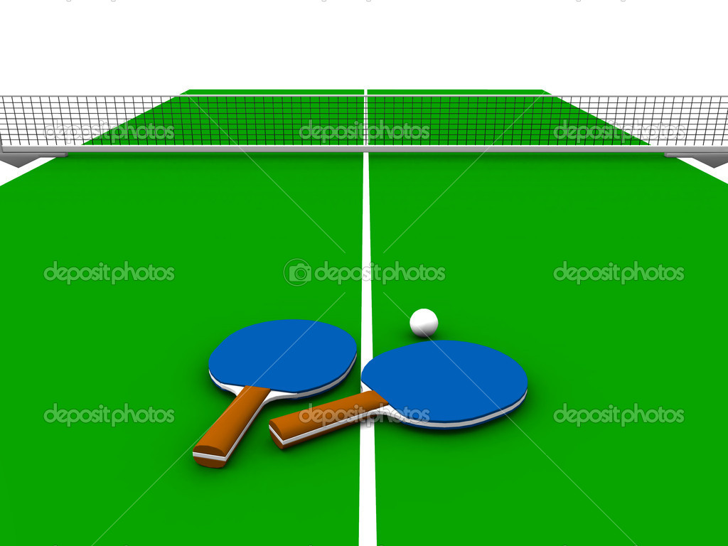 Ping Pong Table Stock Photo Sarah5 4176774