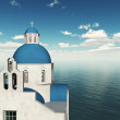 Greek church. — Stock Photo