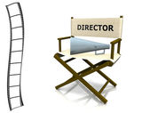Director chair — Stock Photo