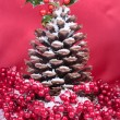 Stock Photo: Christmas decorations closeup
