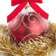 Christmas decorations closeup - Stock Photo
