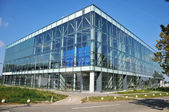 Glass office building — Stock Photo