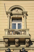 Antigua fachada — Foto de Stock