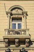 Old facade — Stock Photo