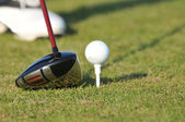 Golf Competition — Stock Photo