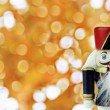 Wooden Nutcracker — Stock Photo