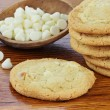 Macadamia Nut Cookies — Stock Photo