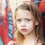 Worried Child — Stock Photo