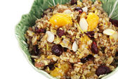 Pilaf and Fruit — Stock Photo